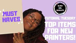 Items Every New Acrylic Painter Should Buy | Acrylic Painting Tutorials (video + transcript)