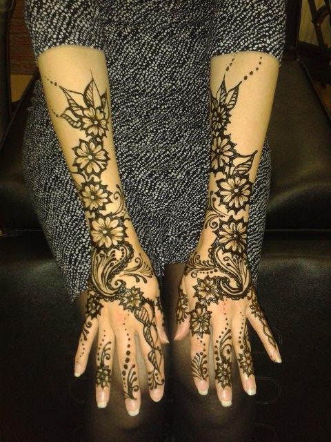 arabic henna artist derby
