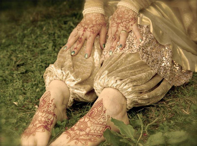 Beatrice wedding Henna