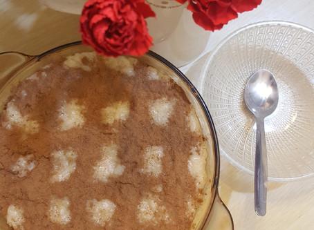 Vegan Portuguese Rice Pudding- Arroz Doce