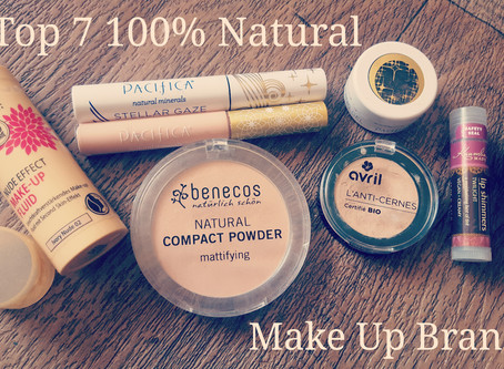 My Top 7 favourite Natural vegan cruelty SLEF free make up brands