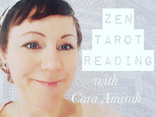 Zen Tarot Reading