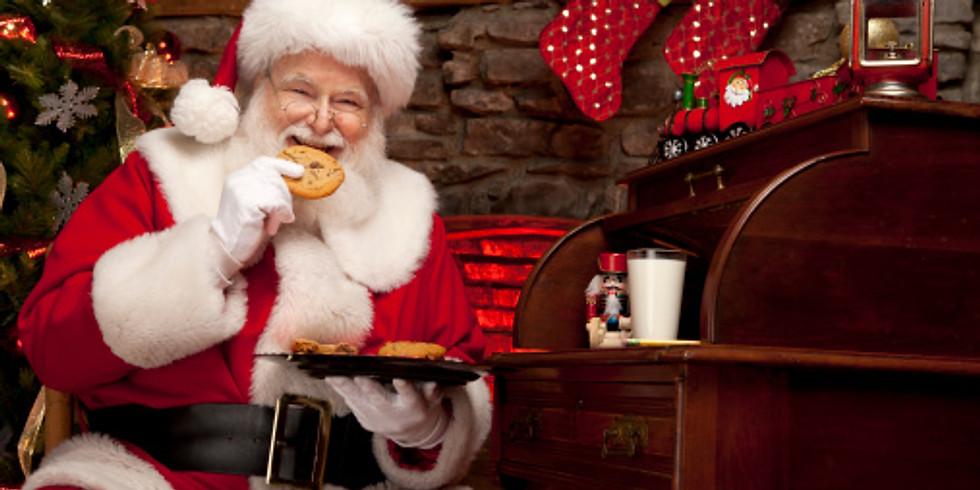 Cookies with Santa - November 23rd