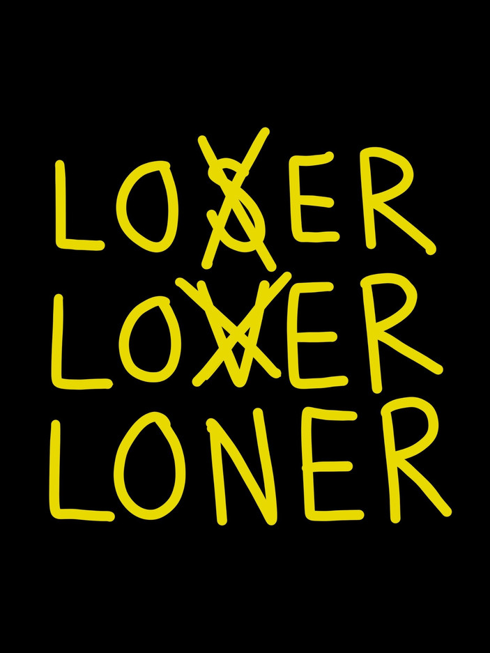 For The Loners Poster #2