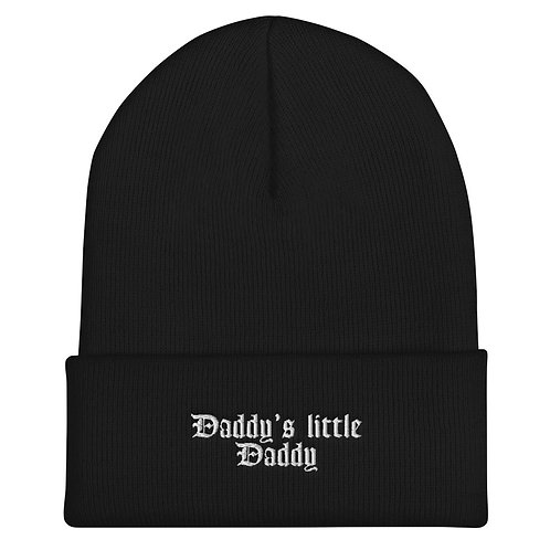 Daddy's little daddy Beanie