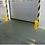 Thumbnail: Bollard Systems: Deflector Post - Floor - Mounted Roller Post