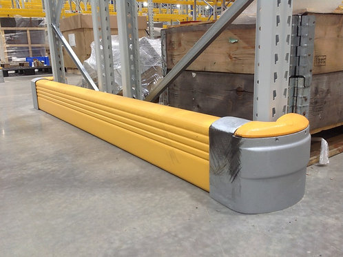 Rack Protection: High Visibility Rack End Protection