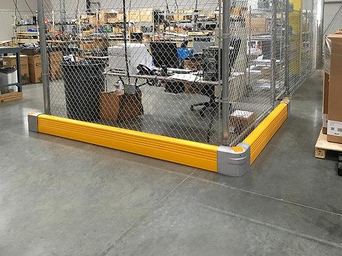 Crash Barrier System: Floor - Mounted Barrier System