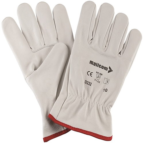 D 232-LEATHER GLOVES
