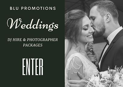 WEDDING DJ & PHOTOGRAPHER HIRE