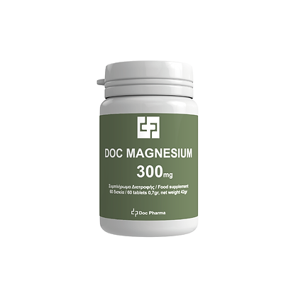 Doc Magnesium 300 mg – 60 таблети