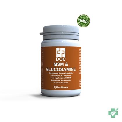 Doс MSM & Glucosamine -  60 таблети