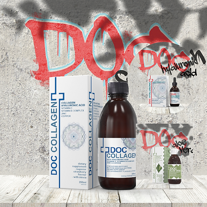 Doc Collagen + Doc Aloe Vera + Doc Hyaluronic