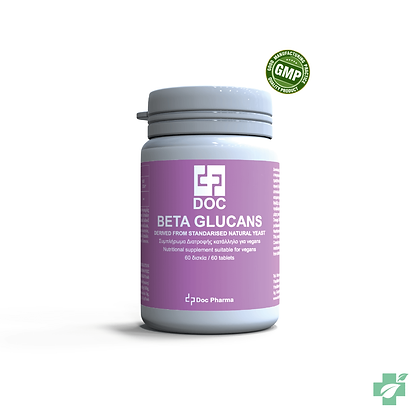 Doс Beta Glucans – 60 таблети