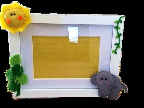 Tropical summer photo frame
