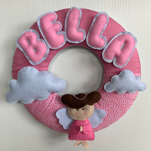 Baby Angel Wreath