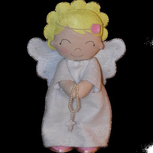 Christening Felt Angel Doll