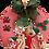 Thumbnail: Cat family Christmas wreath