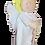 Thumbnail: Christening Felt Angel Doll