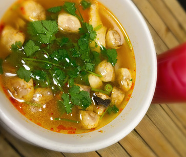 Tom Yum Soup (Thai Hot and Sour Soup)