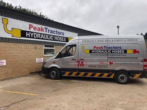 Peak Tractors Emergency Hose Replacement