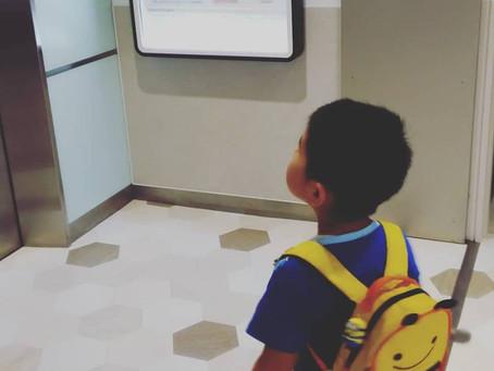 息子と映画館
