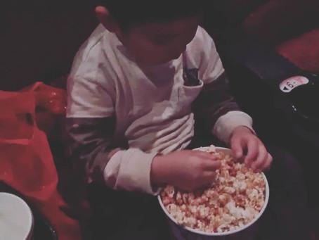 息子と映画♪