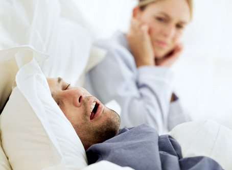 """A """"Snore-Fire"""" Way to Hurt Your Relationship"""