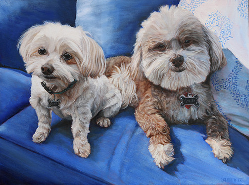 BFF Pet Painting Dog Portrait