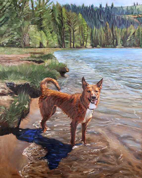 BFF Pet Paintings Dog Portrait