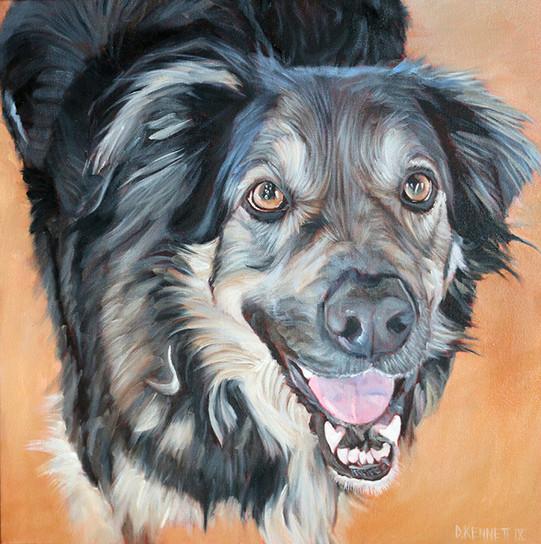 BFF Pet Paintings Dog San Diego
