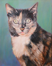BFF Pet Portraits Cat Painting
