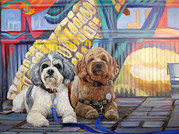Dog Paintings Dallas