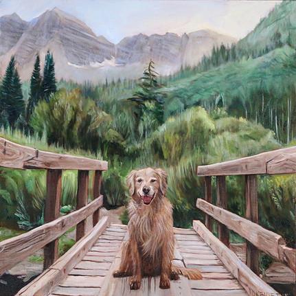 BFF Pet Painting Dog Portrait
