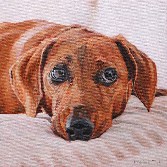 BFF Pet Paintings Dog Portrait