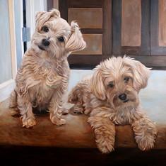 Portland Dog Painting