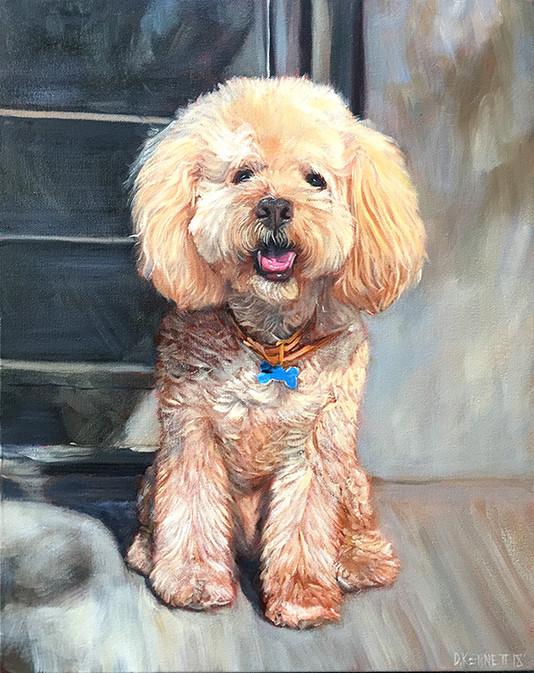 Realistic Dog Portrait Austin