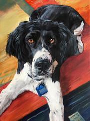 Custom Dog Painting Chicago