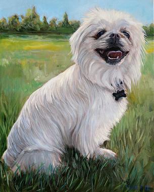 Dog Painting Boston