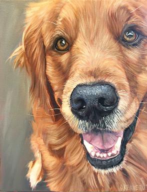 Dog Painting Chicago
