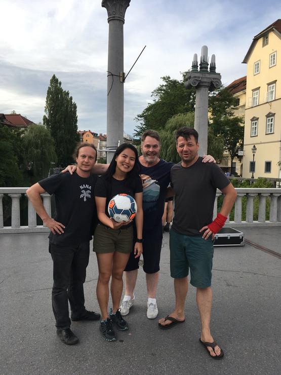 Game 61: Šuštarski Most (Shoe Makers Bridge) , Ljubljana, Slovenia