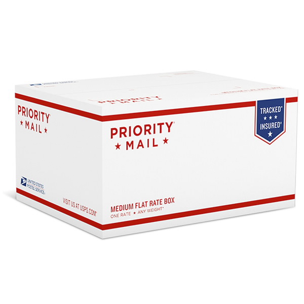 Priority Mail Medium Flat Rate Box