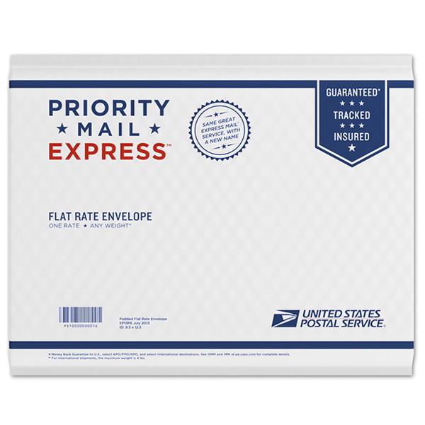Priority Mail Express Padded Flat Rate E