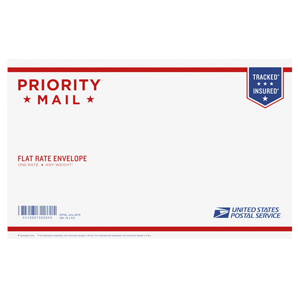 Priority Mail Legal Flat Rate Envelope