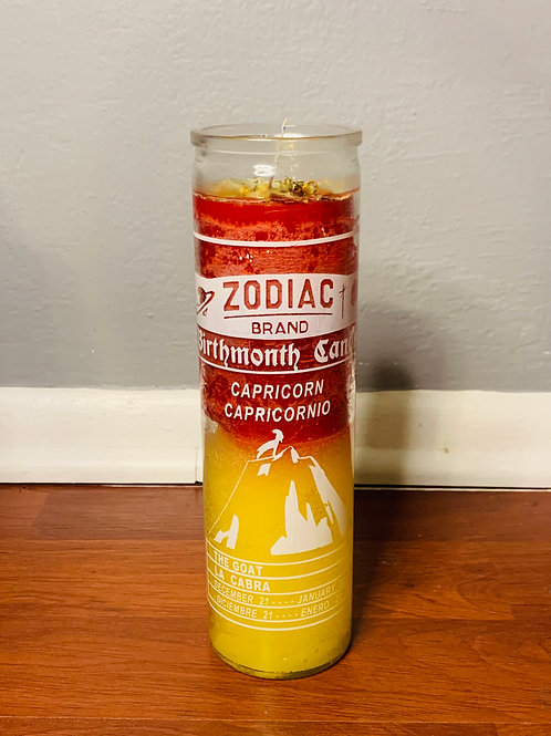 Fixed Zodiac Candles