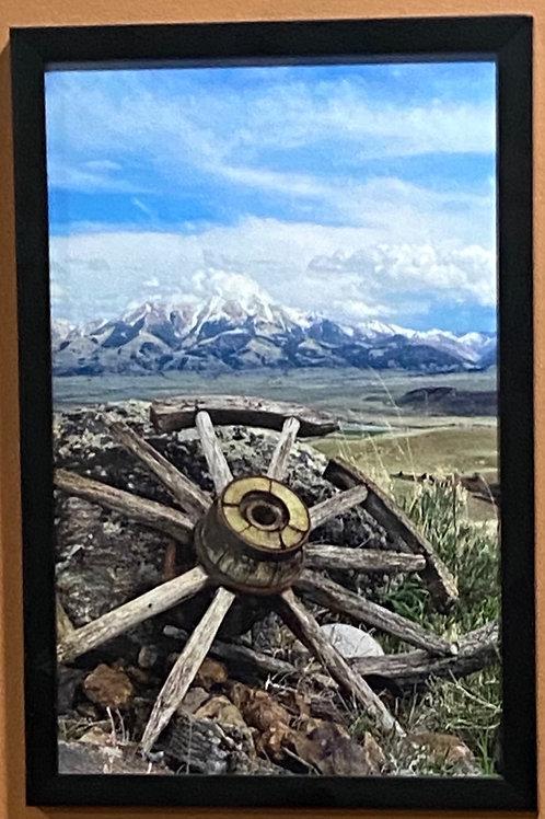 Wagon Wheel -11x17 Framed Poster Print