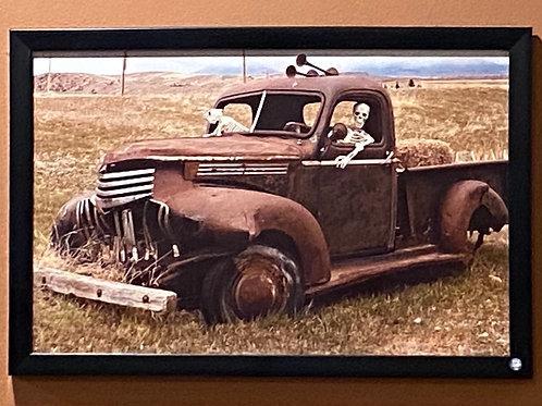 Wilsall History Montana- 11x17 Framed Poster Print