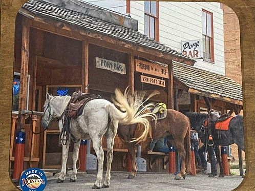 Historic Montana Bar Mousepad