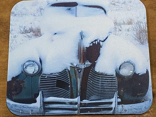 Winter Automobile Mousepad
