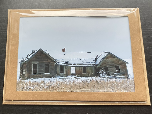 Historic Homestead Photo Note Card